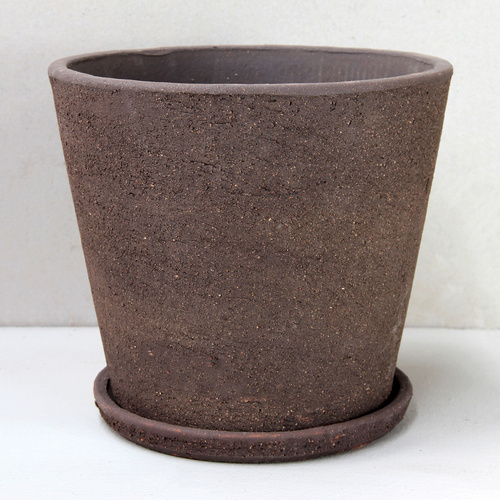 Brown Clay Cover Pot